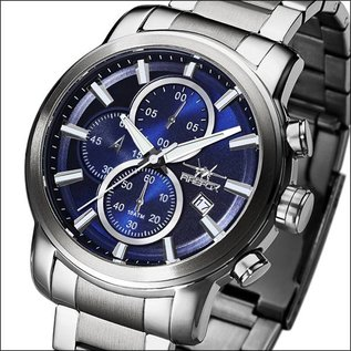 Firefox Watches  Chronograph Stainless Steel 10 ATM | blue