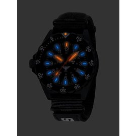 KHS Tactical Watches Military Watches Shooter | Natostrap X | TAC Black