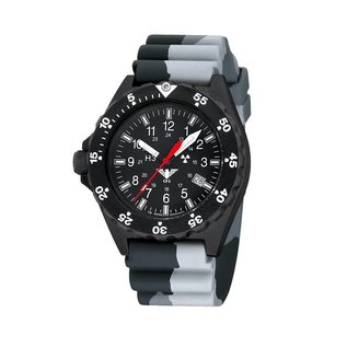 KHS Tactical Watches KHS Shooter with Diver Strap Camo. Grey
