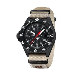 KHS Tactical Watches Shooter | Natostrap X | TAC Tan