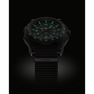 KHS Tactical Watches Sentinel A mit Natoarmband Black | KHS.SEAB.NB