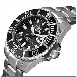 Firefox Watches  Firefox Automatic Diver Watch Black 200 Meter
