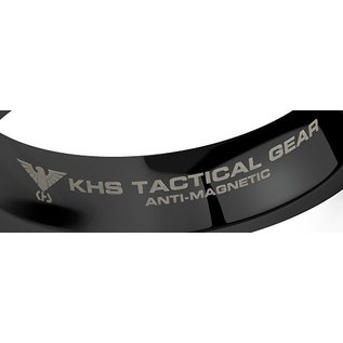 KHS Tactical Watches Tungsten Carbide Rings Black DOS