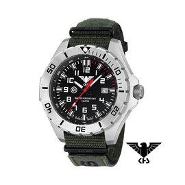 KHS Tactical Watches KHS Tactical Watches Landleader Steel XTAC Oliv KHS.LANS.NXTO1