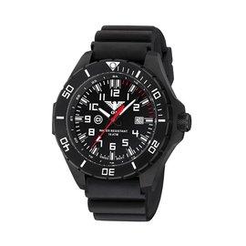 KHS Tactical Watches Landleader Black Steel mit Diver Armband Black | KHS.LANBS.DB