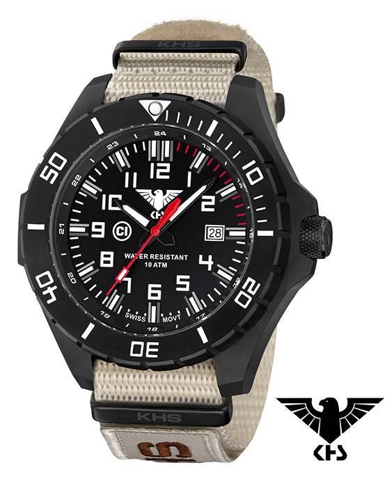 Oliv Landleader Tactical Khs Watches Armyband Khs nxto1 lans Xtac Steel EHI29DW