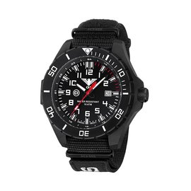 KHS Tactical Watches KHS Tactical Watches Landleader Black Steel Nato XTAC Black