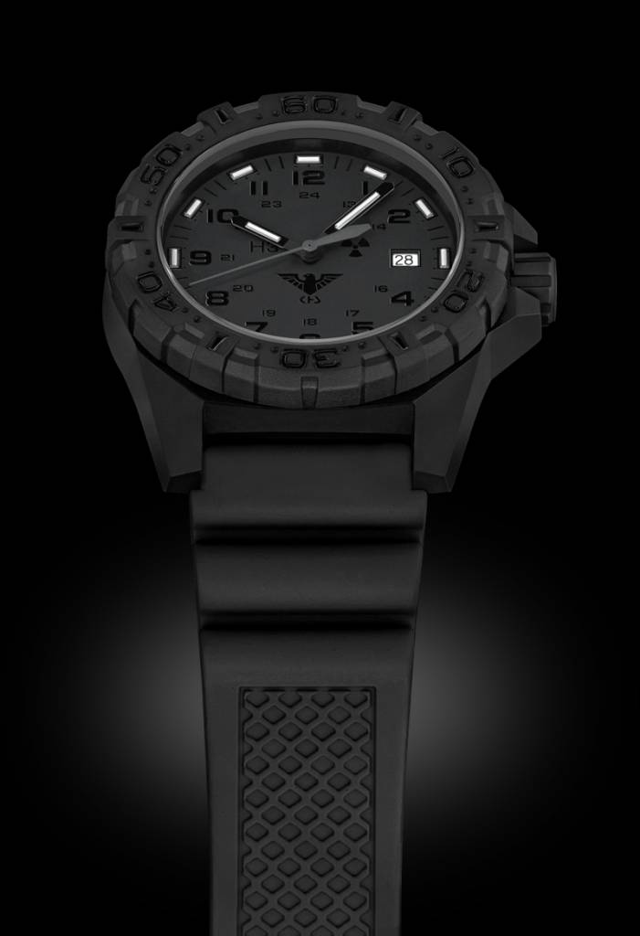 Watches Mit Schwarzen H3 Leuchtsystem Tactical Reaper Halo Xtac LederbandRed Khs eWdCrxBQo