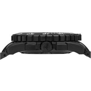 KHS Tactical Watches Einsatzuhr Enforcer Black Steel MK3 | Natoarmband Olive