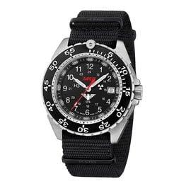 KHS Tactical Watches KHS Enforcer Steel MK3 | Natoband Black