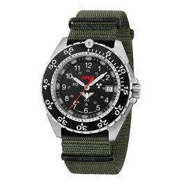KHS Tactical Watches KHS Enforcer Steel MK3 | Natoband Oliv