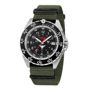 KHS Tactical Watches KHS Tactical Watches Enforcer Steel | Military Bracelet Green