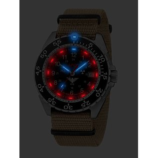 KHS Tactical Watches KHSTactical Watches Enforcer Steel MK3 | Natoband Tan