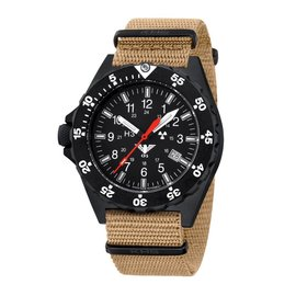 KHS Tactical Watches KHS Shooter mit Natoband Tan