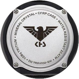 KHS Tactical Watches KHS Tactical Watches Shooter H3 Chronograph | NATO Strap Oliv-Green
