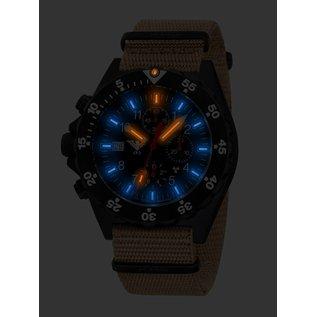 KHS Tactical Watches KHS Shooter Chronograph mit Natoarmband Oliv | KHS.SHC.NO