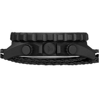 KHS Tactical Watches KHS Shooter Chronograph mit Diver Armband Black | KHS.SHC.DB