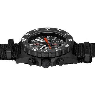 KHS Tactical Watches KHS Shooter H3 Chronograph mit Diver Armband TAN | KHS.SHC.DT