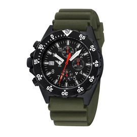 KHS Tactical Watches KHS Shooter H3 Chronograph | NATO Strap Black - Copy - Copy