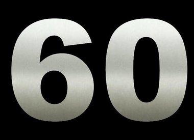 Huisnummers 60 cm hoog