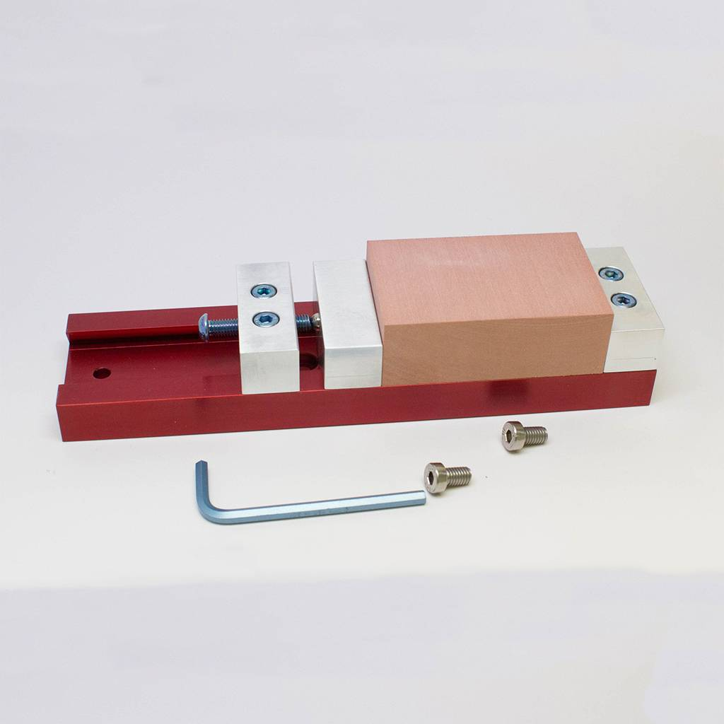 Low Profile Vise - FABLAB FACTORY - We equip your lab