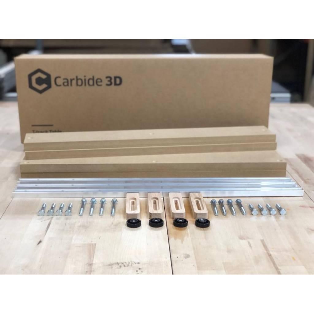 Carbide3D T-track en klemset