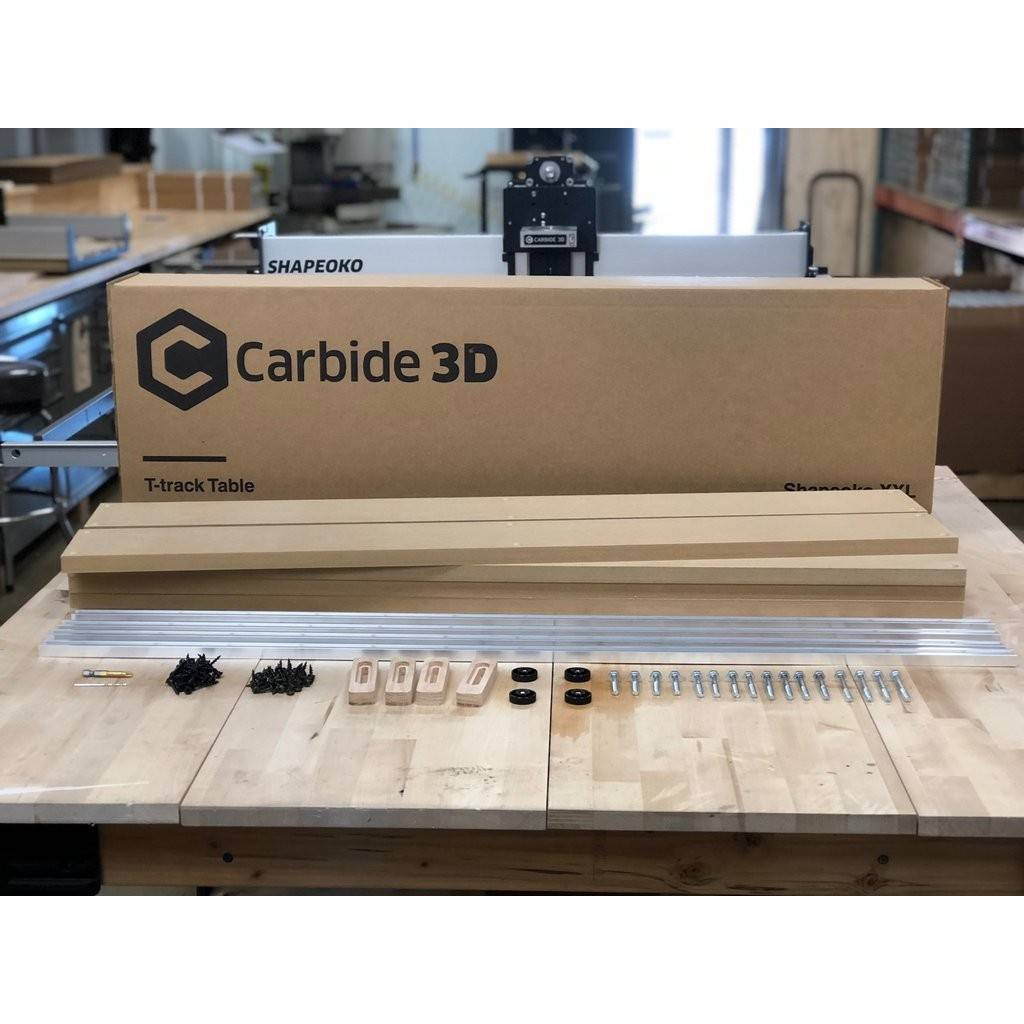 Carbide3D T-Track and Clamp Kit