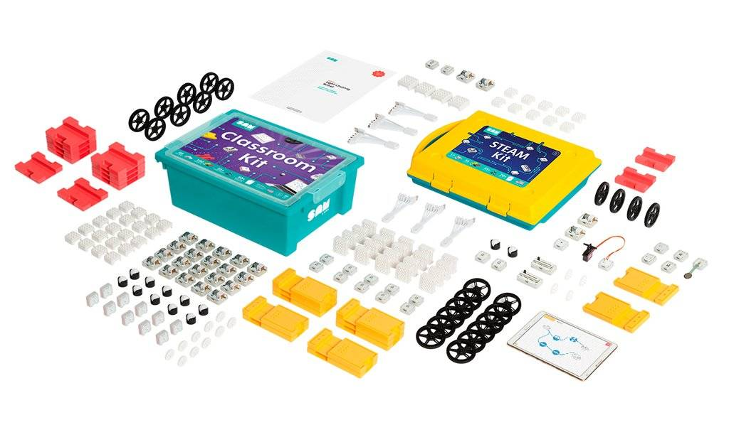 SAM Labs STEAM Kit + Classroom Kit Bundle
