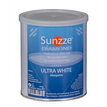 Sunzze Allergiefreies Warmwachs WHITE DIAMOND 800 ml-Dose