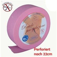 Sunzze Vliesrolle rosa, vorperforiert, 85 m