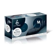 Care Integral Black Gloves, Powder&Latex free, 100pcs, Size: S,M,L,XL