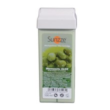 Sunzze Wachspatrone Olive, 100 ml