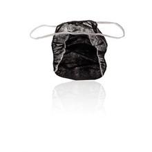 PREMIUM Disposable Men slip - Tanga black 100psc