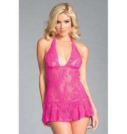 Be Wicked Taylor Babydoll - Roze