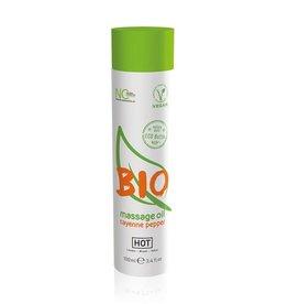 HOT Bio HOT BIO Massageolie Cayenne Peper - 100 ml