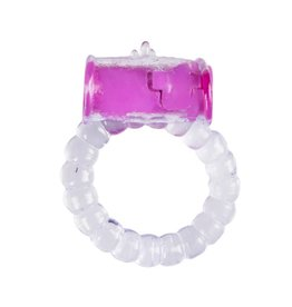 Easytoys Online Only Vibrating Cockring - Paars