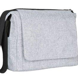 Lassig Lassig verzorgingstas messenger bag black melange