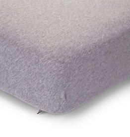 Childhome Childwood hoeslaken grijs bed 70x140