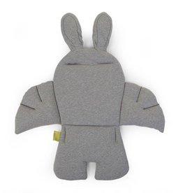 Childhome Childwood stoelkussen rabbit jersey grijs