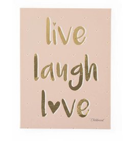 Childhome Childwood schilderij Live Laugh Love