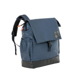 Lassig Lassig verzorgingstas little one & me backpack reflective small navy