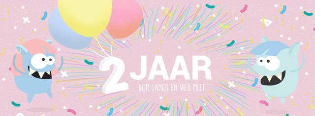 Monstertjes 2 jaar!