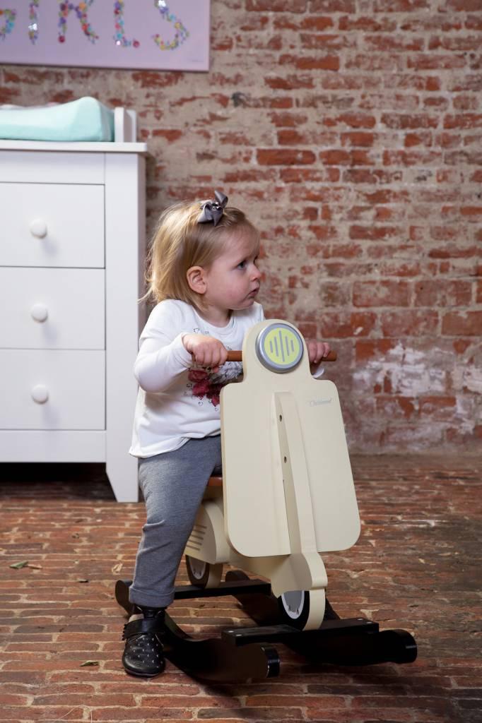 Childhome Childwood schommel scooter cream