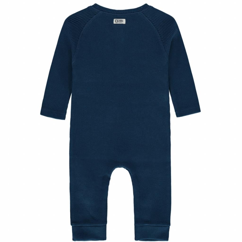 Tumble 'n Dry Tumble 'n dry Justen onesie water blue