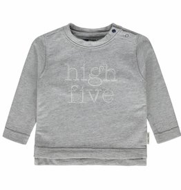 Tumble 'n Dry Tumble 'n dry Jessel t-shirt light grey maat 62