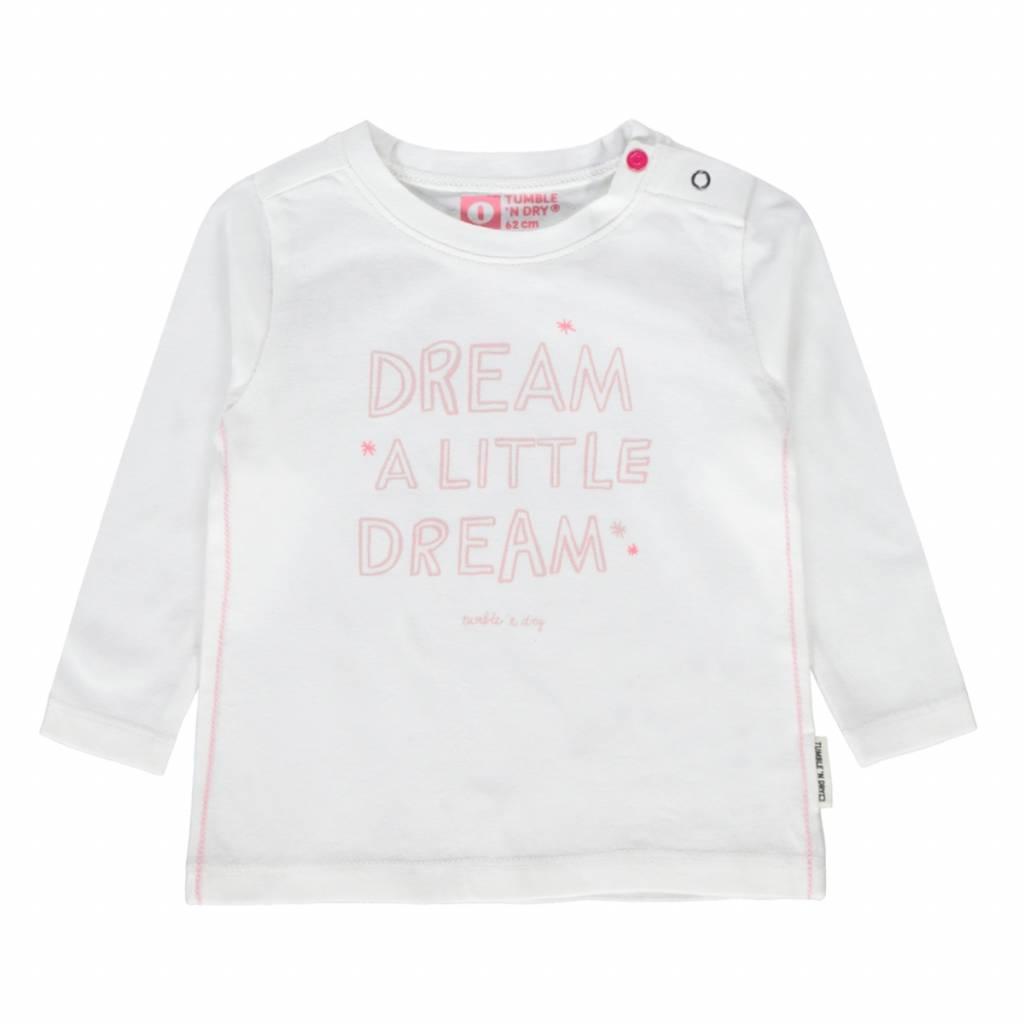 Tumble 'n Dry Tumble 'n dry Zyra T-shirt cloud dancer white