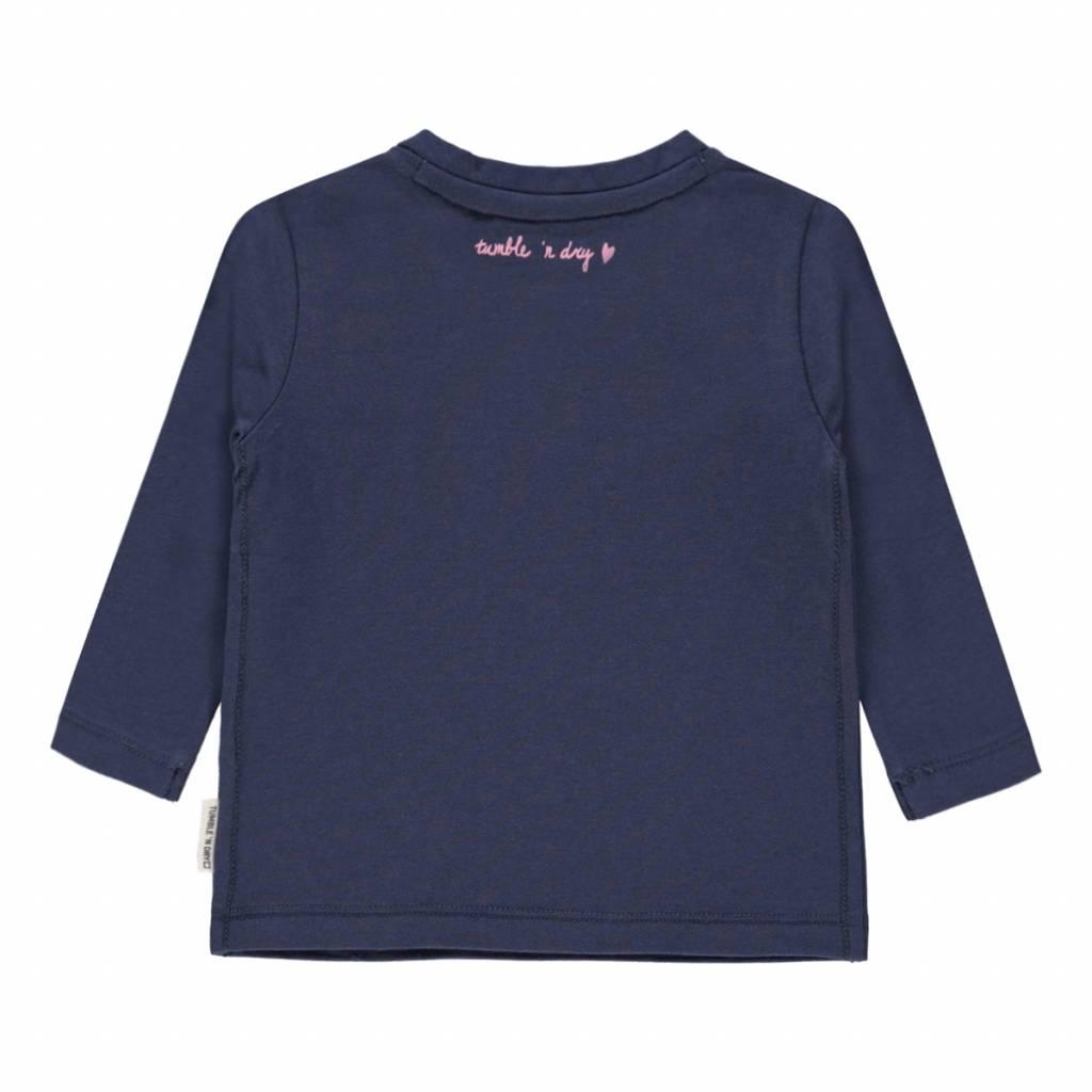 Tumble 'n Dry Tumble 'n dry Zoscha T-shirt mood indigo
