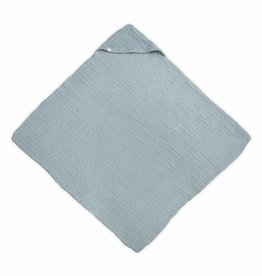Jollein Jollein badcape wrinkled XL stone green 100x100