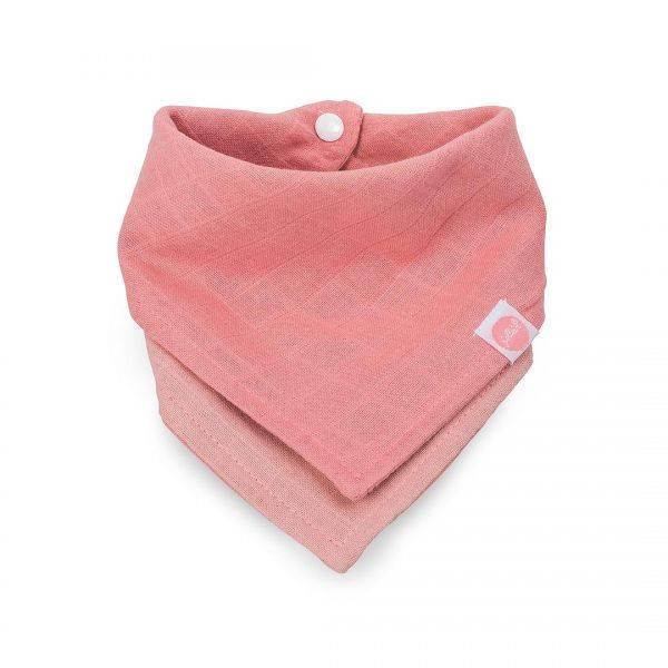 Jollein Jollein slab bandana duo coral pink