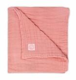 Jollein Jollein hydrofiel dekentje coral pink 75x100